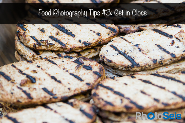 Food Photography Tips 3 - Get in Close