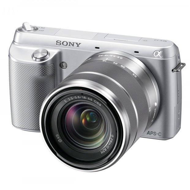 Sony NEX F3 Silver