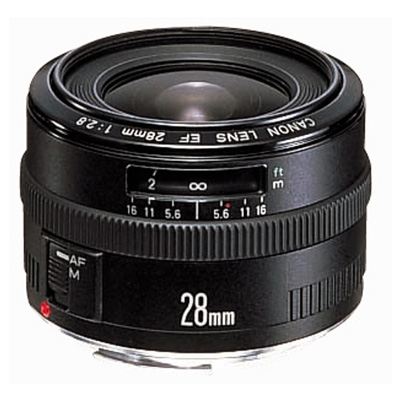 Canon EF 28mm 2.8 Lens