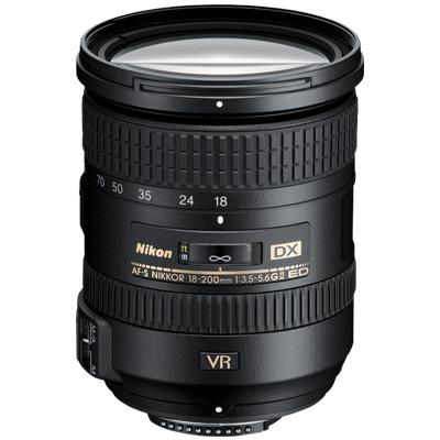 Nikon 18-200mm Super Zoom Lens